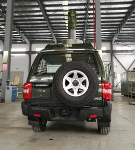 智屯达牌ZTD5031XJE无线电监测车图片