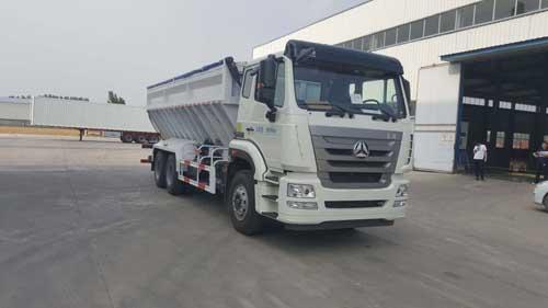 吉鲁恒驰牌PG5250ZLS散装粮食运输车