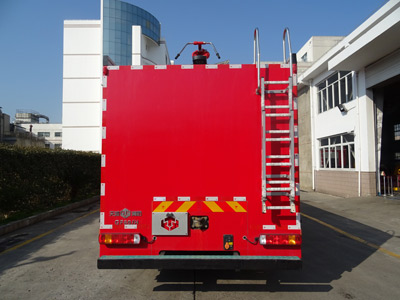 天河牌LLX5255GXFGF60/H干粉消防车图片