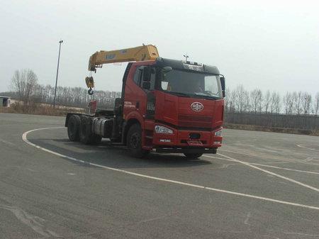 解放牌CA5250JQQP66K2L1T1A1E5随车式起重牵引运输车