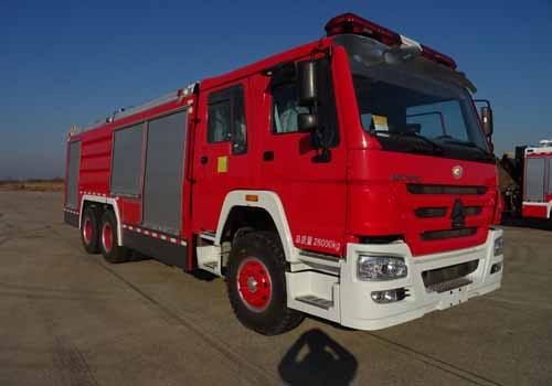 上格牌SGX5280GXFGP100干粉泡沫联用消防车