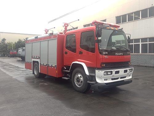 川消牌SXF5161GXFGF40干粉消防车