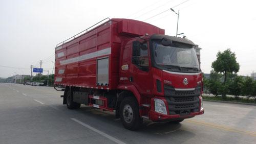 华通牌HCQ5182ZLSLZ5散装粮食运输车