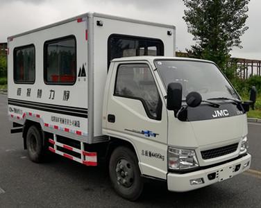 山山牌STC5041XCT20A静力触探车
