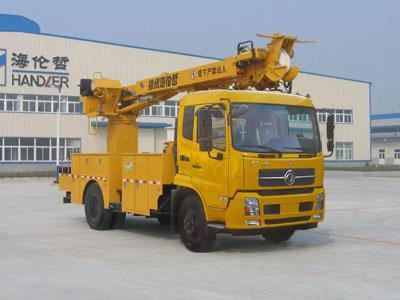 海伦哲牌XHZ5130TXGD5线杆综合作业车