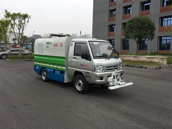 重特牌QYZ5031GXS5清洗洒水车