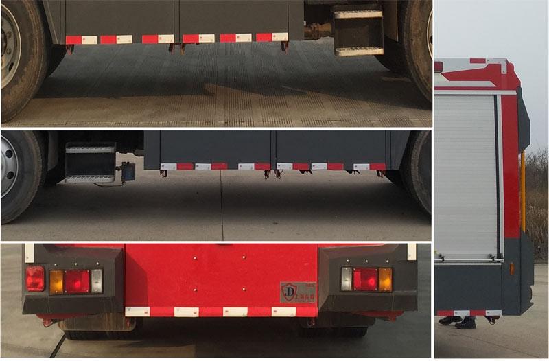 金盛盾牌JDX5150GXFGF30/W5干粉消防车图片