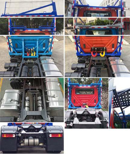 解放牌CA5185TBQK2E6R7A90车辆运输半挂牵引车图片