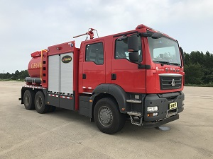 捷达消防牌SJD5240GXFGF60/SDA干粉消防车