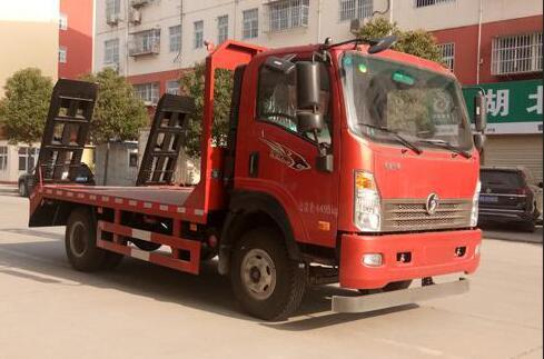 程力威牌CLW5042TPBC5平板运输车