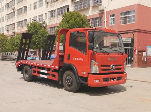 程力威牌CLW5040TPBE6平板运输车