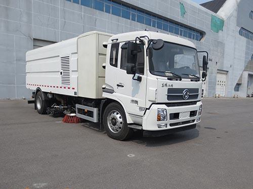 华林牌HLT5180TXSEV纯电动洗扫车