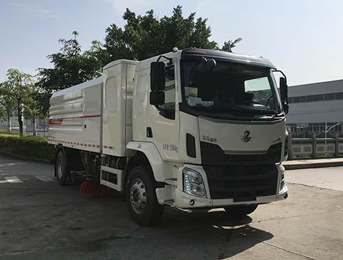 福龙马牌FLM5180TXSDLBEV纯电动洗扫车