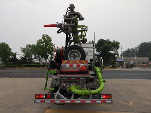 科尼乐牌KNL5160TPJ混凝土喷浆车图片