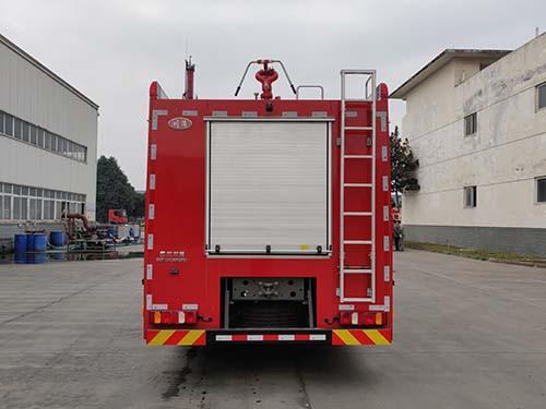 川消牌SXF5241GXFGF60干粉消防车图片