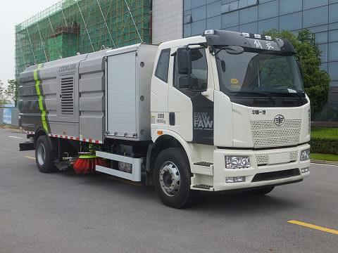中联牌ZBH5180TXSCABEV纯电动洗扫车