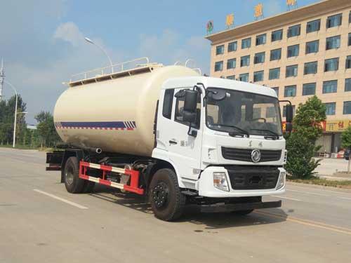 楚胜牌CSC5180GFLES6低密度粉粒物料运输车