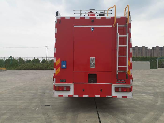 上格牌SGX5250GXFGF60干粉消防车图片