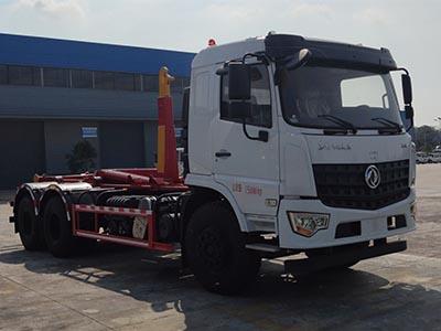 东风D3L 后八轮 车厢可卸式 CL5250ZXXD6钩臂垃圾车