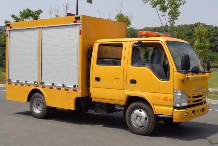 程力威牌CLW5040XXHQ6救险车