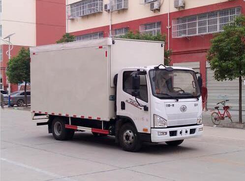 程力威牌CLW5040XWTC6舞台车