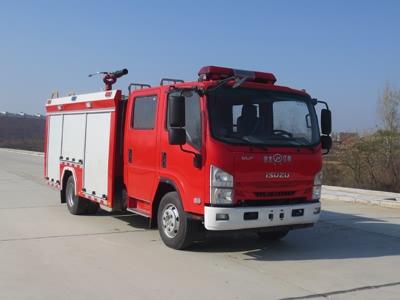 江特牌JDF5100GXFPM30/Q6泡沫消防车