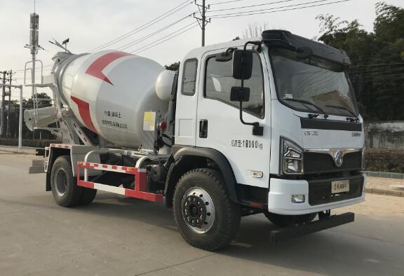 大力牌DLQ5180GJBLXS6混凝土搅拌运输车