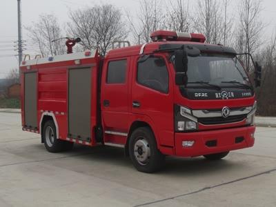 江特牌JDF5110GXFSG50/E6水罐消防车